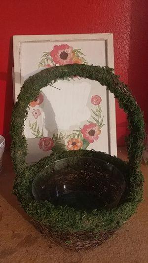 flower pot basket for Sale in Philadelphia, PA