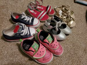 Toddler girl shoes size 6 for Sale in San Antonio, TX
