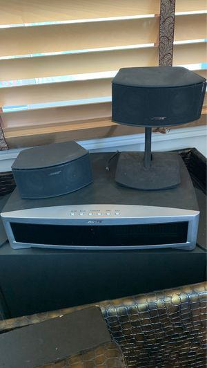 123 Bose system w/ 2 speakers and woofer and CD player for Sale in Chula Vista, CA