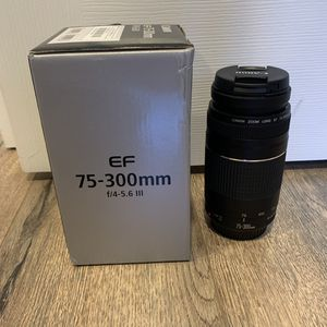 canon lens for Sale in San Jose, CA