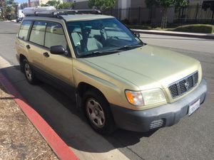 2001 Subaru Forester-L AWD 4dr Wagon ***Needs body work*** for Sale in City of Industry, CA