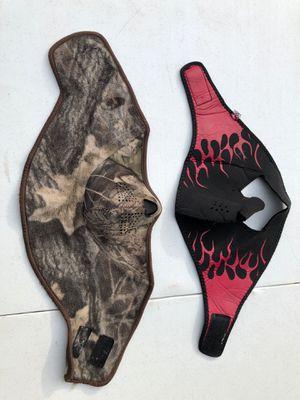 Motorcycle rider face gear (2) for Sale in Manassas, VA