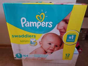 Pampers Swaddlers Size 1 Diapers for Sale in Vancouver, WA