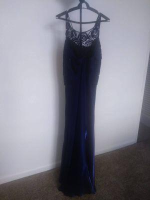 Used blue silk taffeta dress Party Wedding Birthday for Sale in IND CRK VLG, FL