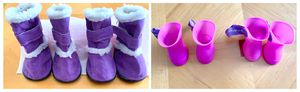 SALE! Dog Boots - 2 Sets (Sherpa & Rain) for Sale in Montpelier, MD