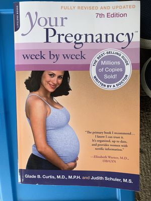 Pregnancy week by week book for Sale in Los Angeles, CA