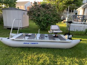 Sea Eagle Fold Cat Pontoon Fishing Boat for Sale in Wells, ME