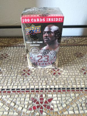 """Michael Jordan"" Upper Deck 2009 (Hall Of Fame 100 Cards Gold Seal Set) Mint for Sale in Houston, TX"