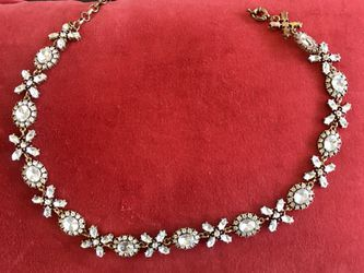 Bling diamond necklace or choker and two sets of bling earrings. for Sale in Murfreesboro,  TN