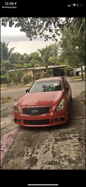 2013 Infiniti G37 parts for Sale in Hialeah, FL