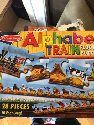 Alphabet puzzle for Sale in Leesburg, VA