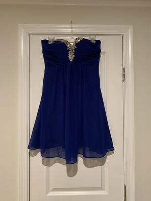 Navy Cocktail Dress with Sweetheart Neckline for Sale in Frederick, MD