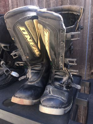 Dirt bike riding boots, size 11 for Sale in Torrance, CA