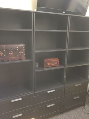 3 Book cases / gently used / good condition for Sale in Fort Lauderdale, FL