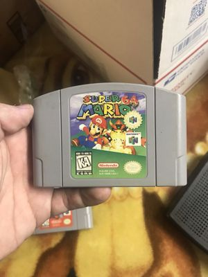 Super Mario 64 Nintendo N64 vintage game cartridge for Sale in Shoreline, WA