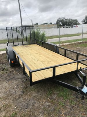 Utility trailer 6x16TA @ Brothers Trailers for Sale in Tampa, FL