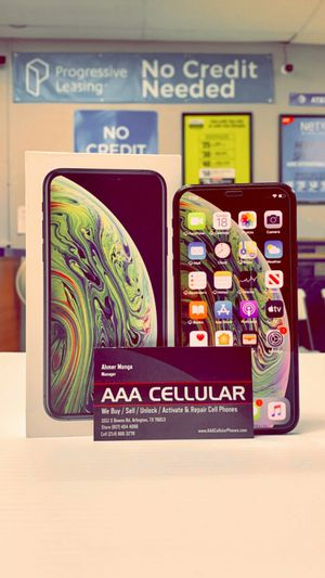 iPhone XS - 512GB / 256GB / 64GB - Factory Unlocked / ATT T-Mobile Verizon Sprint Starting @ for Sale in Arlington, TX