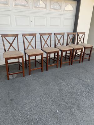 SET OF 6 STOOLS $220 for Sale in Fresno, CA