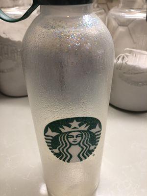 Bling Starbucks glitter water bottle for Sale in Bay Lake, FL
