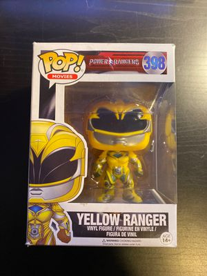 Funko POP Movies: Power Rangers Yellow Ranger for Sale in Bridgeview, IL