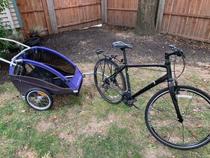 Cannondale swift and burley bike trailer for Sale in Cleveland, OH