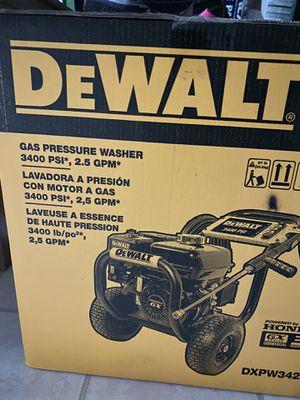 Dewalt pressure washer for Sale in Gaithersburg, MD