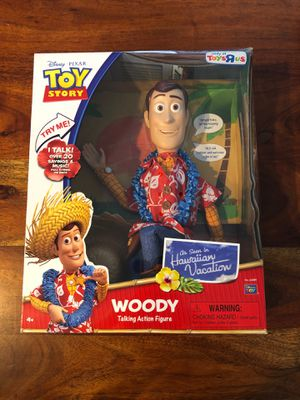 Toy Story Woody Talking Action Figure for Sale in Temecula, CA