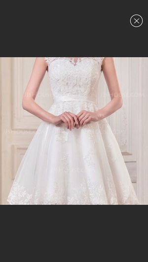 Short Wedding Dress Ivory for Sale in Phoenix, AZ