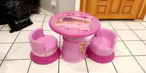 Tangled princess table for Sale in Laredo, TX