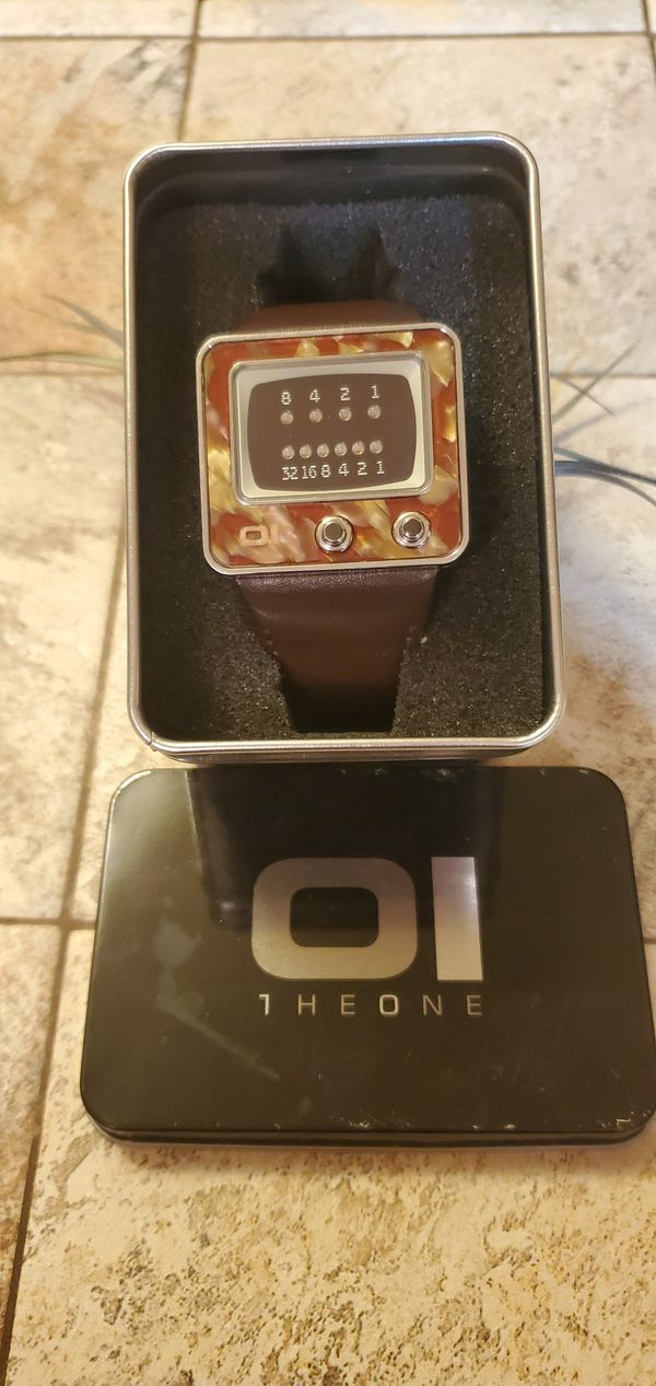 The One TV watch mint condition