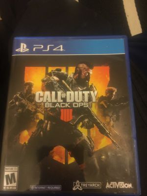 Black ops 4 for Sale in Washington, DC
