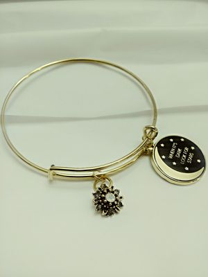 """Gold """"When it's Dark"""" Bangle for Sale in Mineola, TX"""