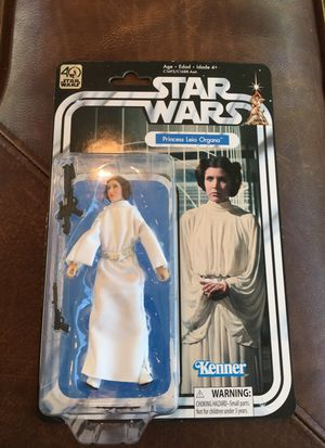 Star Wars Black Series 40th Anniversary Action Figure Princess Leia for Sale in Phoenix, AZ