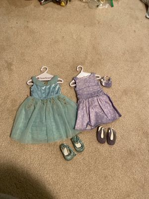 American Girl Doll dresses with matching shoes for Sale in Mission Viejo, CA