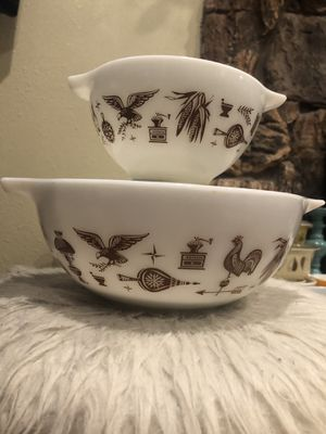 Pyrex Americana Mixing Bowls for Sale in Pomona, CA