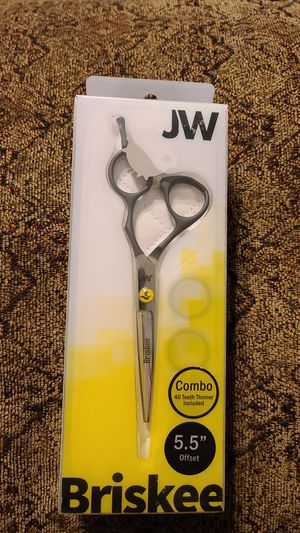 JW Briskee combo 5.5 shears for Sale in Chicago, IL