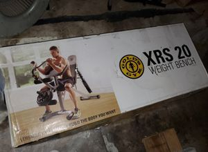 XRS 20 Weight ,home workout set up for Sale in Houston, TX