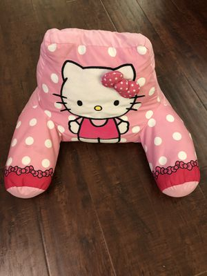 Licensed Hello Kitty Bed Rest Pillow with Arms • Good Condition for Sale in Covina, CA