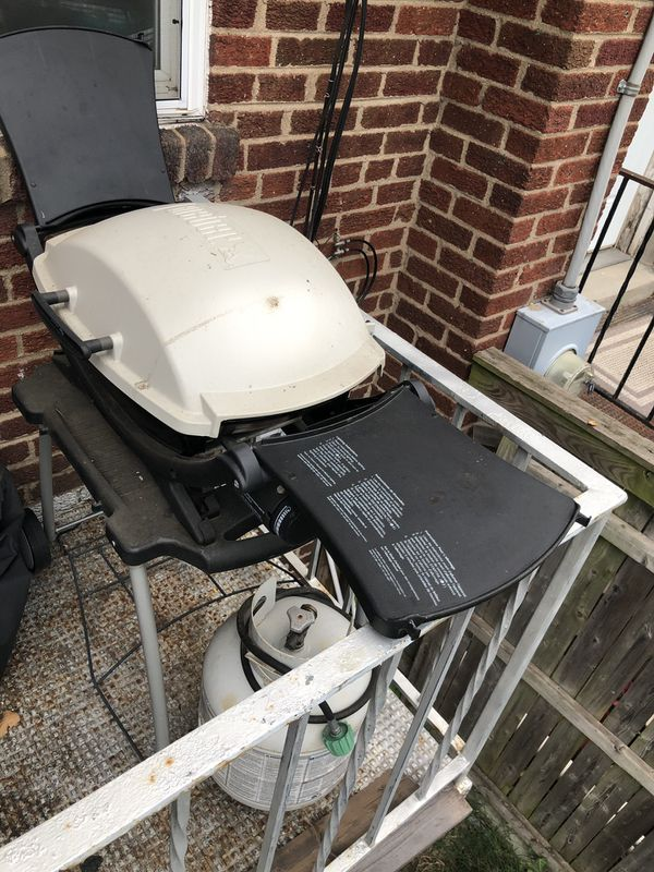 Weber Gas Grill with Tank & Cover
