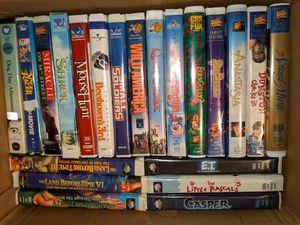 VHS huge lot!! 33 total for Sale in Fort Walton Beach, FL