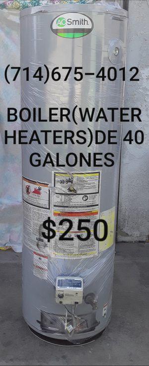 BOILER(WATER HEATERS)DE 40 GALONES USADO DE LA MARCA AO SMITH!!!!!!! for Sale in Santa Ana, CA