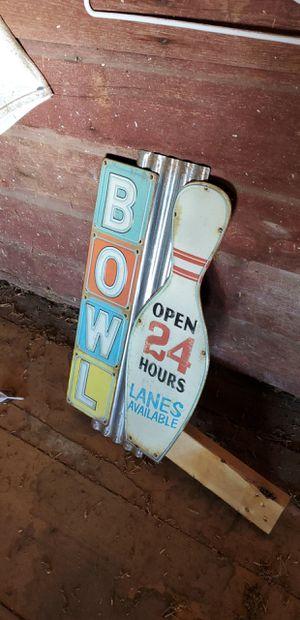Bowling sign for Sale in Menomonie, WI