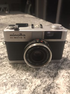 Vintage 1974 Minolta 35mm camera for Sale in Uniontown, OH