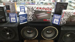 Mb Quart Subwoofer System with Free Installation for Sale in Las Vegas, NV