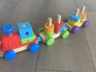 Wooden Train Toy for Sale in Sunnyvale,  CA