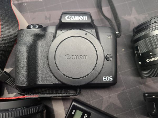 Canon EOS M50 with extras
