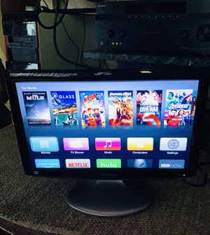 """SHARP TV 21"""" HDMI FLAT!!!!!NOT SMART!!!!!! for Sale in Silver Spring, MD"""