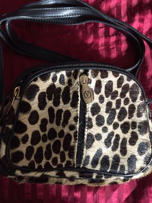 Italien design Valentina crossbody animal print handbag for Sale in Silver Spring, MD