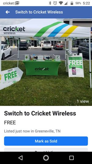 Switch to Cricket Wireless for Sale in Greeneville, TN