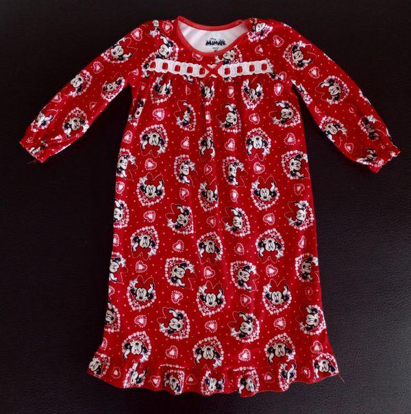 Two Pajamas Disney Minnie Mouse & Hello Kitty size 4